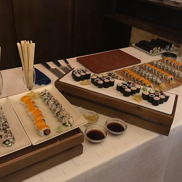 catering sushi Murcia