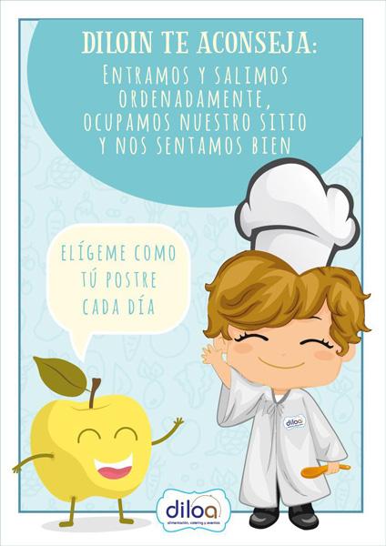 Diloino servicio comedor escolar Murcia