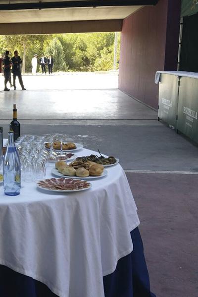 mesa catering Diloa Murcia