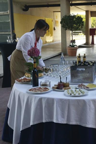 preparación catering Murcia Diloa