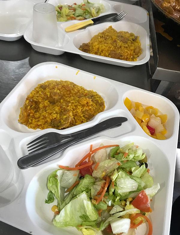 Catering comedor escolar Murcia
